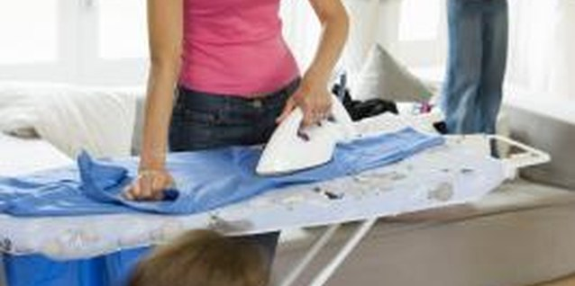 Cotton clothing often needs ironing, while microfiber clothing usually doesn't.