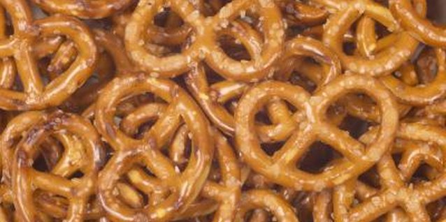Pretzels are good for teaching simple math to young children.