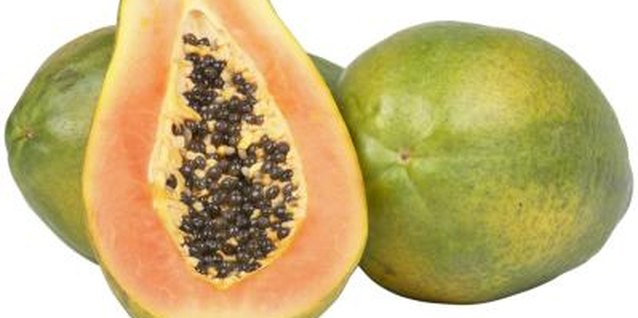 Papaya gives baked goods a tropical flavor.