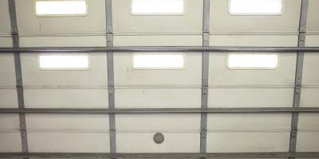 An uninsulated garage door can be an energy leaker.
