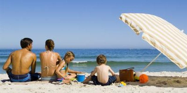 The family-friendly beaches make for a relaxing time with the kids.