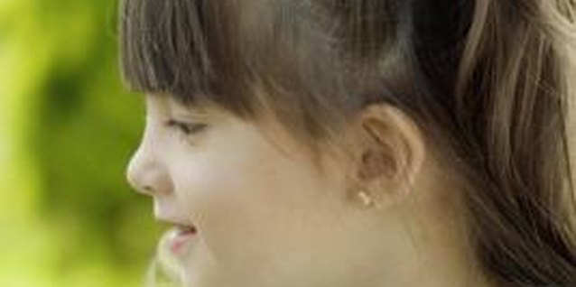 Learn how to safely remove your child's earrings.
