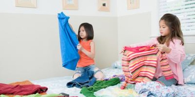 Your child can help sort and fold laundry.