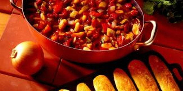 Chili cook-offs promote amicable rivalry.