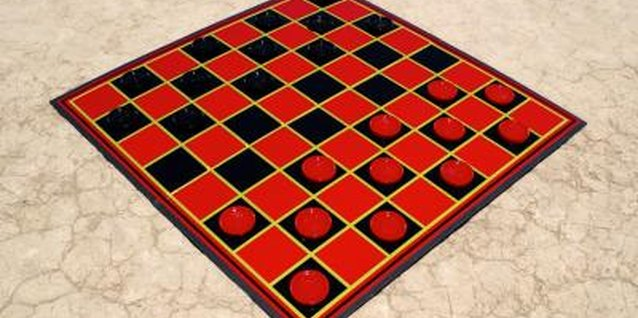 How to Make a Rug-Size Checkerboard