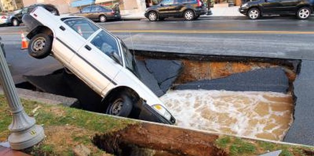 Take care of minor bumps in the marriage road before they become sinkholes.