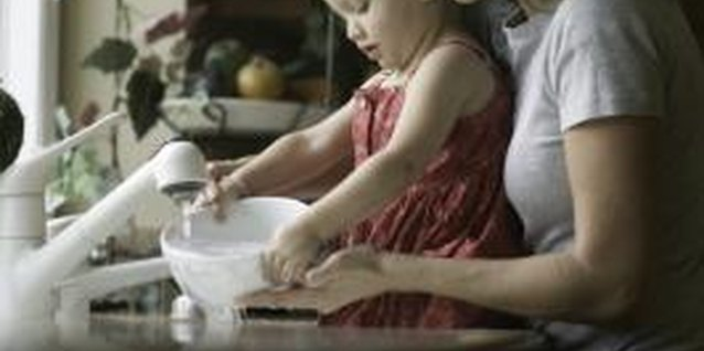 Allowing your child to help with basic tasks makes her feel important.