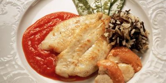 Worcestershire sauce adds a bold flavor to sole fillets.