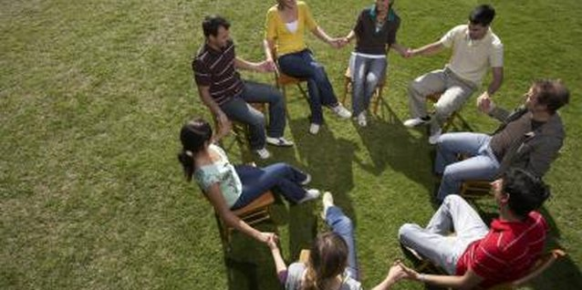 Attending a support group with other spouses of addicts can help you cope with a difficult situation.