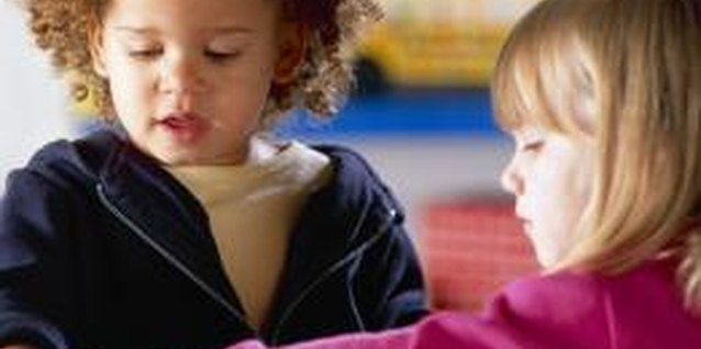 Social interaction and sharing will help preschoolers learn to deal with jealousy.