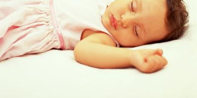 Your tot needs 12 hours of sleep per day.