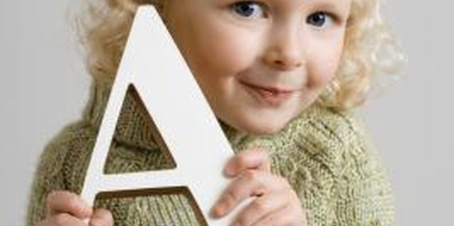 How to Decorate Letters for Preschoolers