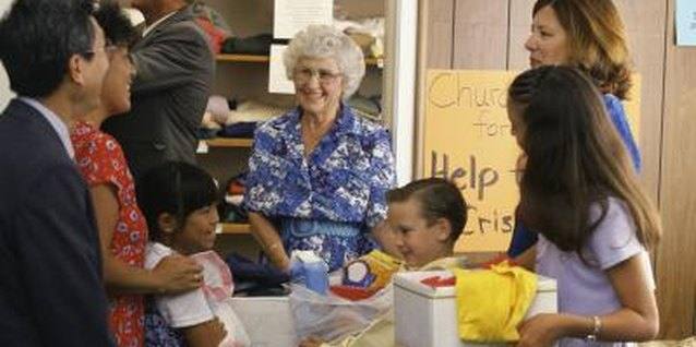Preschoolers will proudly help their parents collect and deliver items to local food banks and clothing drives.