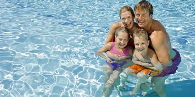 Swimming is a favorite summer activity for Parker families and tots.