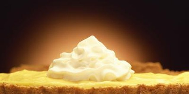 Refrigerate lemon chiffon pie for several hours before serving.