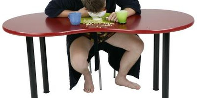 Skipping breakfast could indicate underlying sleeping issues.