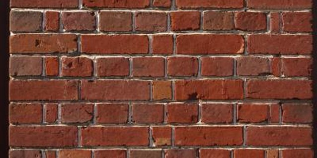 Real brick walls are beautiful.