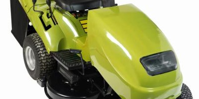 Riding lawn mowers have a larger turning radius than push or ZTR mowers.