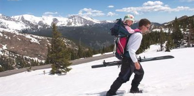 Imagine hiking Estes Park with a toddler on your back.