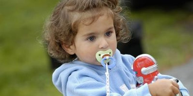 Encourage her to stop pacifier use by about age 2.