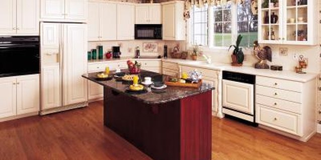 How to Redo Cabinets With Water Spots