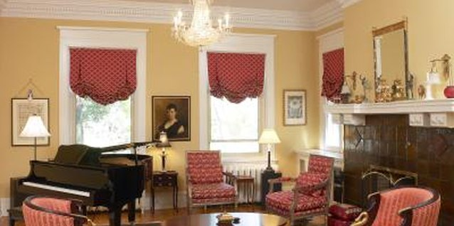 Crown molding is typically used around ceilings.