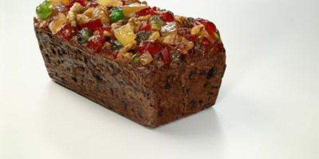 Bake fruitcake in mini loaf pans to give as gifts.