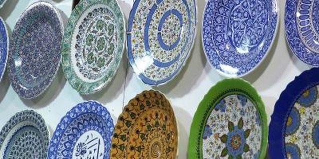 Display your collection of decorative plates for added pizazz to your decor.