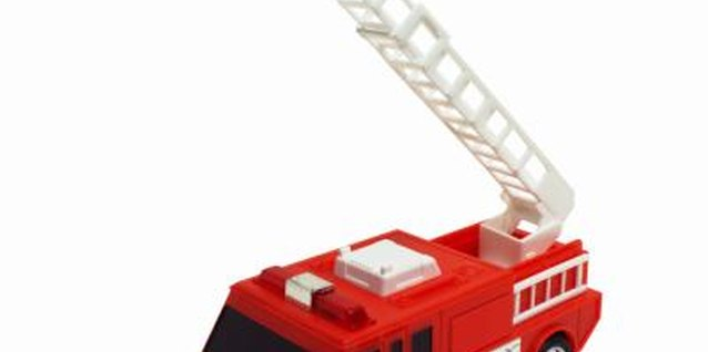 Spark your preschooler's imagination with toy fire trucks.