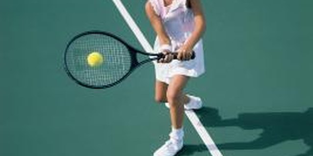 Tennis can be modified for little players.
