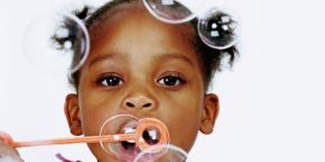 How Bubbles Help Toddlers' Gross Motor Skills