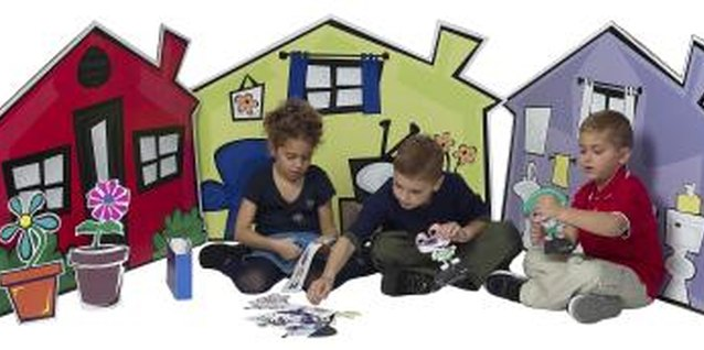 Your child can learn through educational activities at preschool.