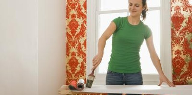 How to Paste Up Wallpaper Cutouts