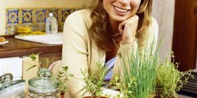 Ideas for Indoor Kitchen Herb Gardens