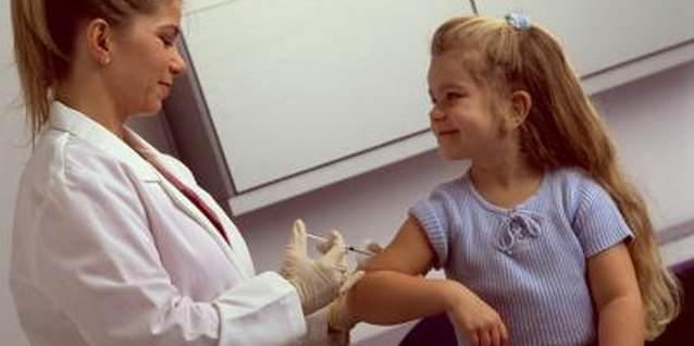 Some immunizations aren't safe for kids allergic to eggs, but vaccines don't contain wheat.