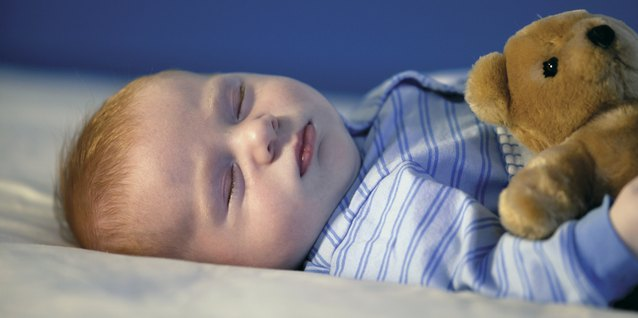 You might use a sound machine to create noise while your child sleeps.