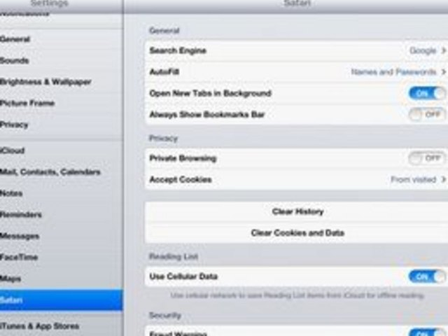 How To Clear The History On An IPad (with Pictures)