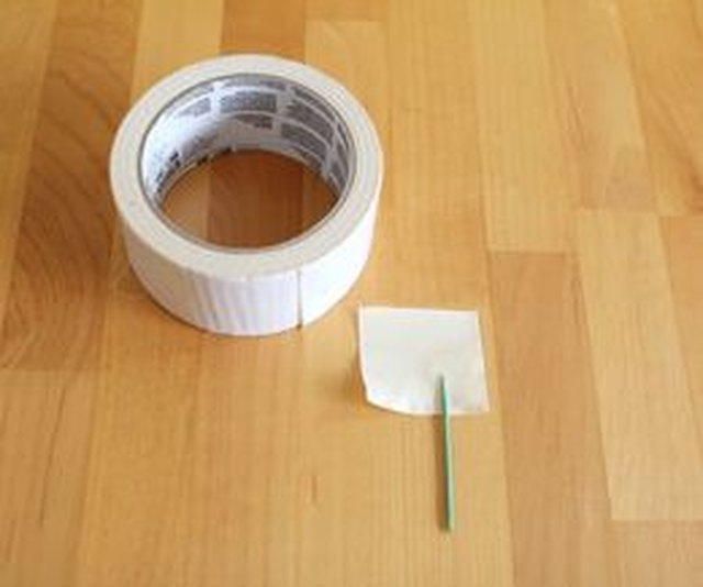 Use a toothpick and white duct tape to make labels.