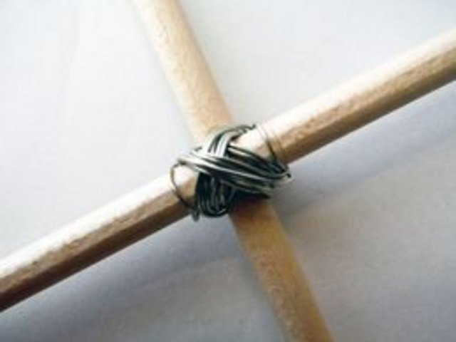 Wire dowels together