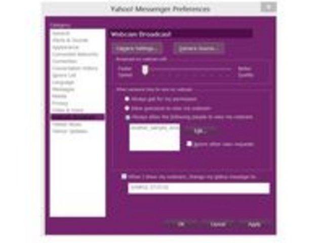 Webcam On Messenger 112