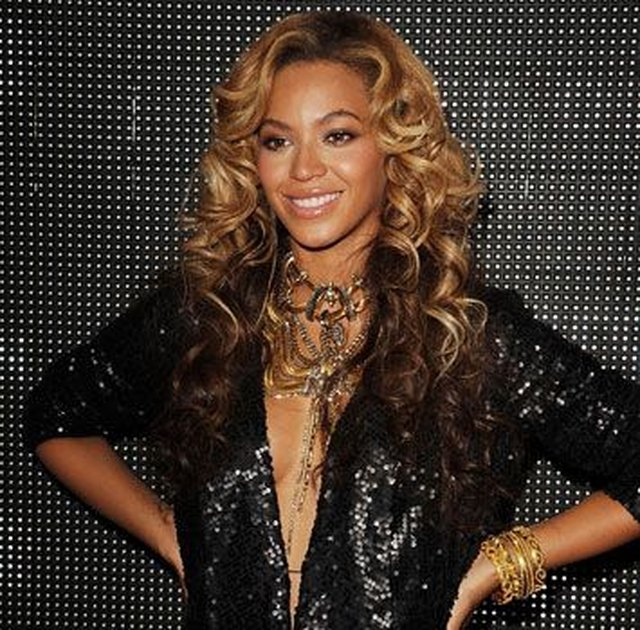 Beyonce Knowles at the House of Dereon Launch in 2011.