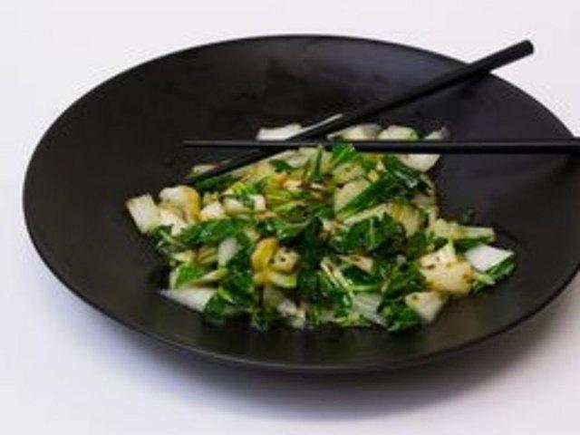 how to prepare shanghai bok choy