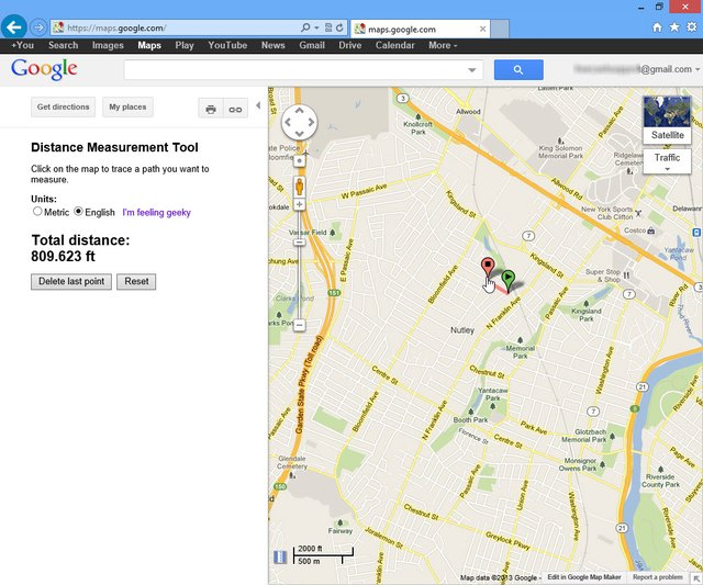 how to measure running distance in google maps ehow. Black Bedroom Furniture Sets. Home Design Ideas