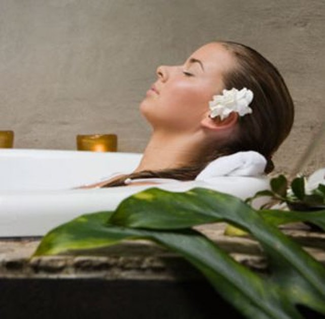 Treating yourself to an at home spa experience will help you feel refreshed.