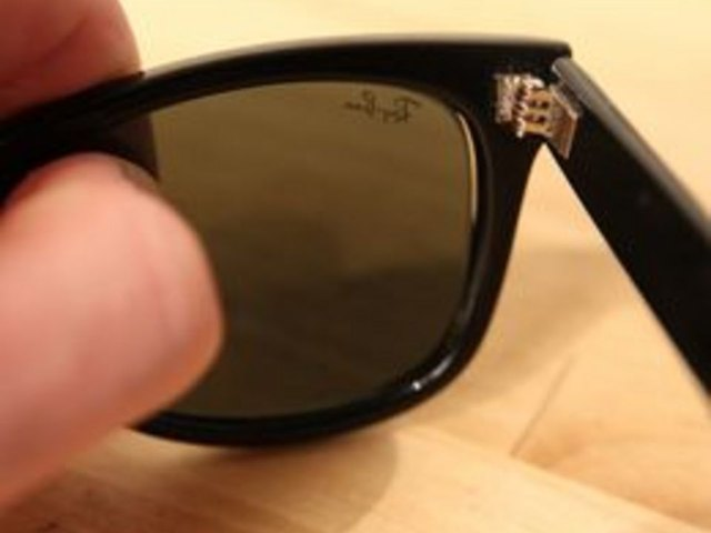 How To Repair Ray Ban Sunglasses