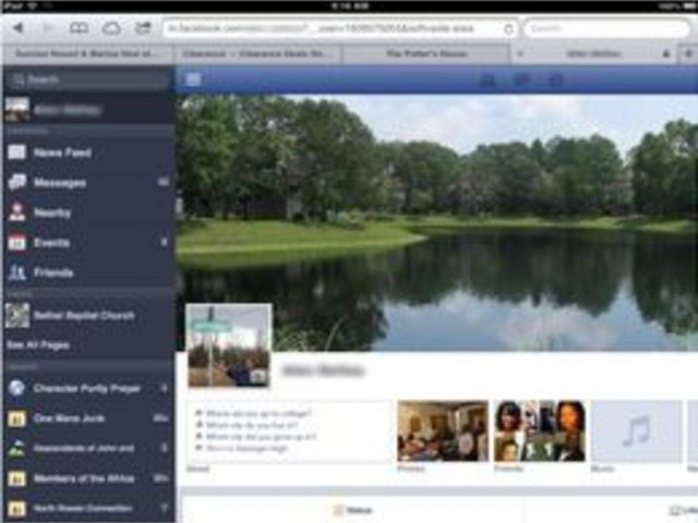 How to Change a FB Profile Picture on an iPad | eHow