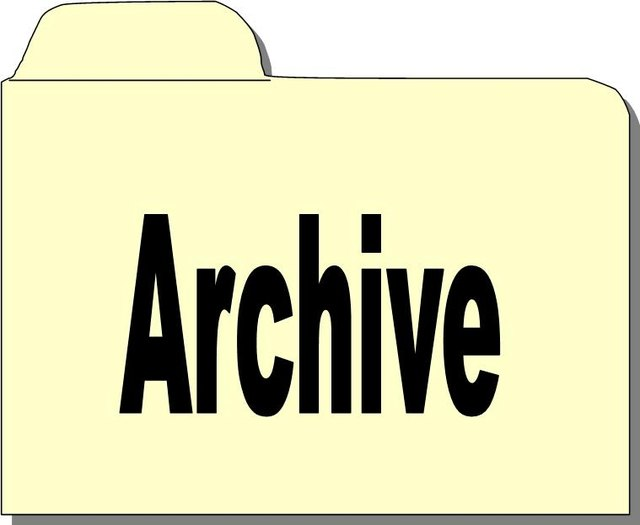 Create an archive folder.