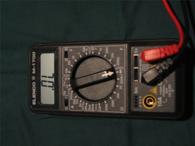 Ohmmeter Reading 0 Ohms : How to test a switch with an ohm meter pictures ehow