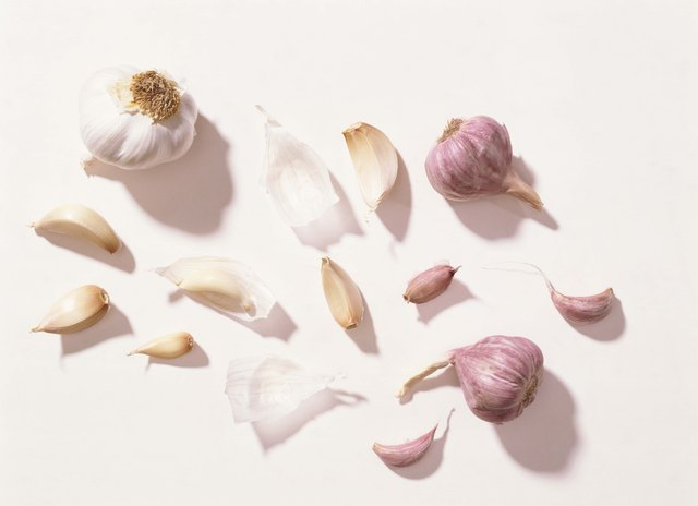 Garlic works well as an insecticide.