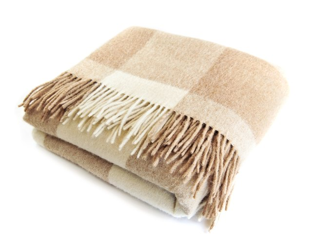 Make sure blankets are completely dry before putting them away.